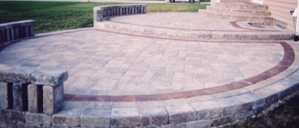 Multi-Level Patio using Unilock